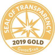 Guidestar Gold Seal of Transparency for 2019