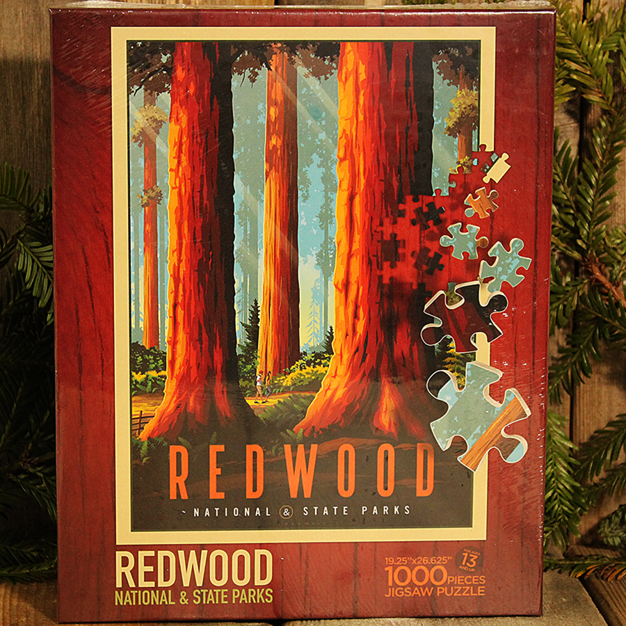 Redwood National and State Parks 1,000 Piece Puzzle