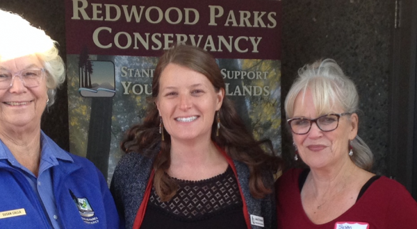 Attendees of the Crescent City/ Del Norte Co. Chamber of Commerce Joint Mixer with Redwood National and State Parks