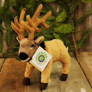 Little Plush Stuffed Elk