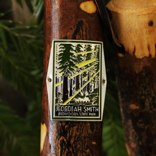 Jedediah Smith Redwoods State Park Hiking Stick Medallion