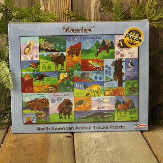 Jr. RangerLand Animal Tracks Puzzle