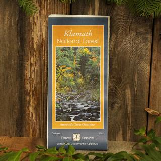 Klamath National Forest Map