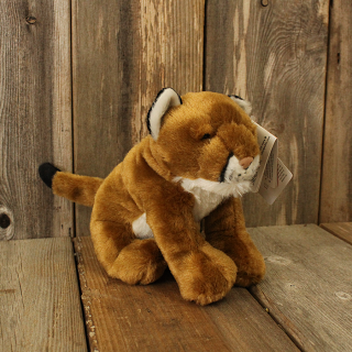 "PLUSH 8"" MOUNTAIN LION"