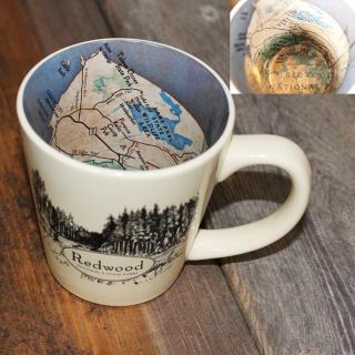 Redwood National and State Parks Map Mug