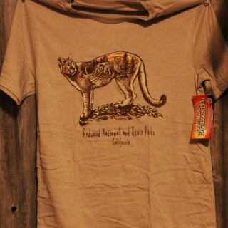 REDWOOD NATIONAL & STATE PARKS MT. LION T-SHIRT