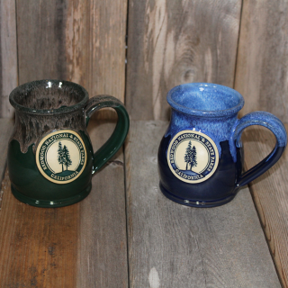 Redwood National and State Parks Mug, Deneen Pottery