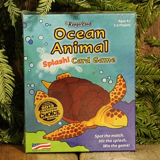 Jr. RangerLand Ocean Animal Splash! Card Game