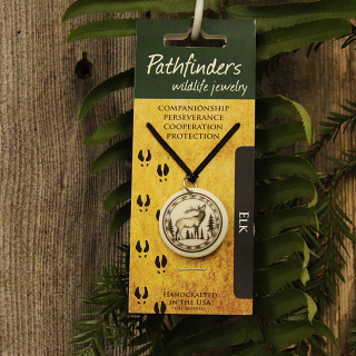Pathfinders Elk Necklace