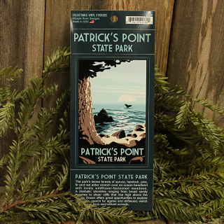 Patrick's Point State Park Window Sticker