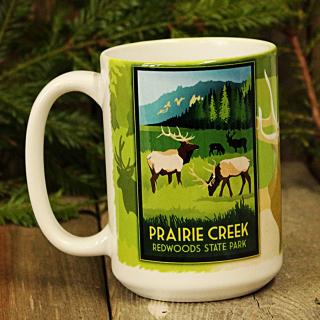 Prairie Creek Redwoods State Park WPA Style Mug