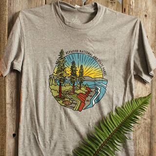 Redwood Coastal Tee Shirt