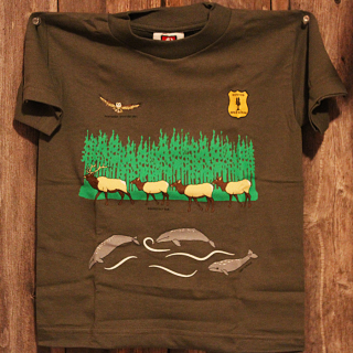 REDWOOD JR. RANGER TEE SHIRT