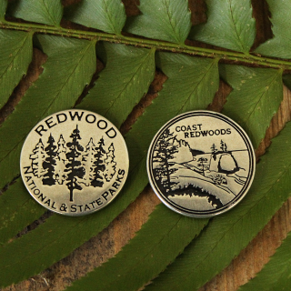 Redwood National and State Parks Collectible Token