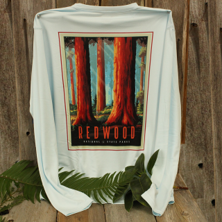 Redwood National and State Parks Activewear Long Sleeve Shirt