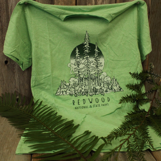 Redwood National and State Parks Forest Campground T-shirt