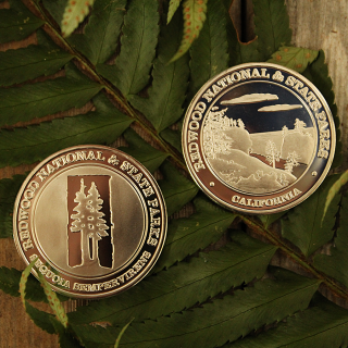 Redwood National and State Parks Memorial Coin