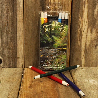 Redwoods Twist-Up Crayons