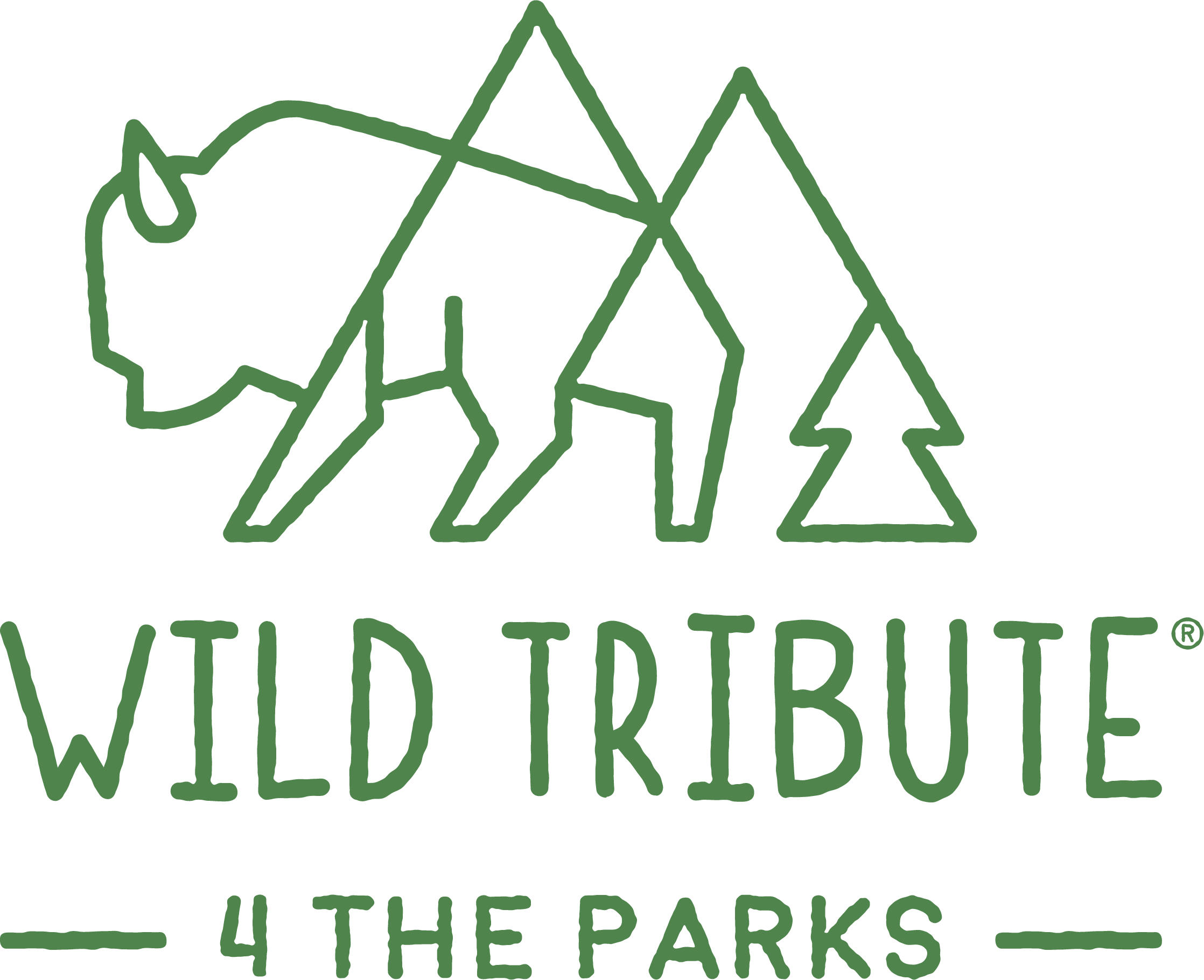 Logo for the outdoor apparel company Wild Tribute